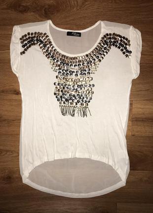 Очень красивая футболка jane norman