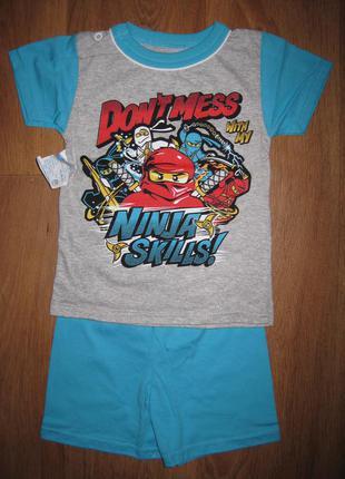 Костюм для мальчика, футболка + шорты. на возраст 1-2 лет. в наличии!!!