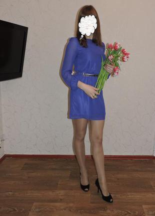 Красивое короткое платье oodji