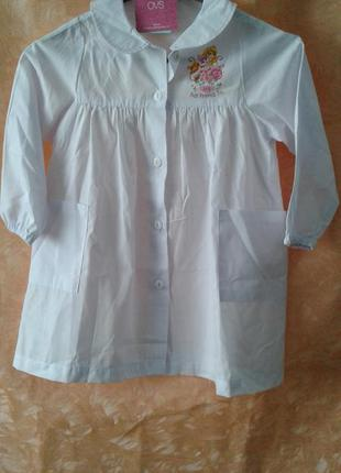 Маленькое белое платье р,104 ovs италия лот 65
