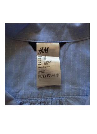 Стильная рубашка h&m3 фото