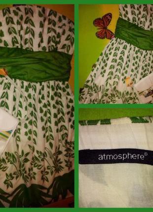 Летнее платье-бюстье без бретелек с принтом на молнии