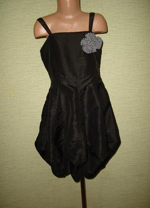 Нарядное платье y.d.на 7-8 лет цветочек съемный