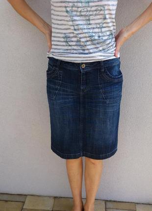 Джинсовая юбка s.oliver