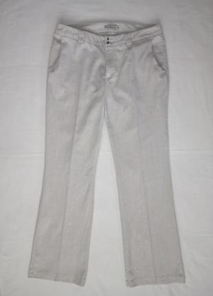 Отличные  брюки  из нат.ткани р.50