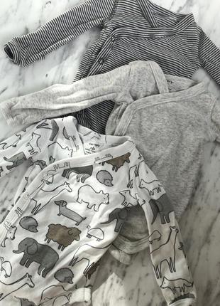 Набор бодиков на новорожденного
