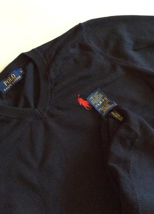 Мужской свитер polo ralph lauren оригинал размер s-m