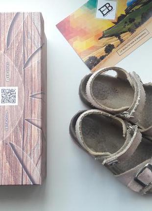 Сандали босоножки полностью натуральные ортопедические