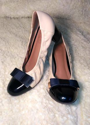 Туфли кожаные respect