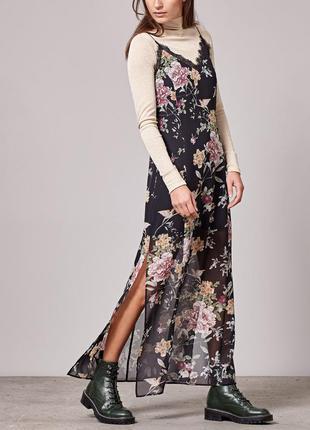 Платье сарафан на бретельках