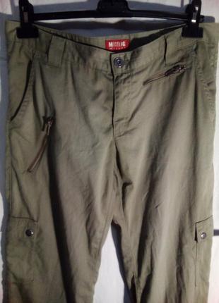 Крутые джинсы джогеры  mustang р.30-32 цвет хаки