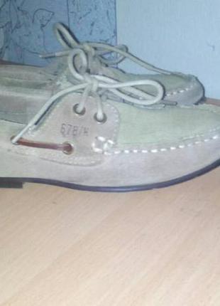 Стильные туфли ( мокасины, летняя обувь) для мальчика