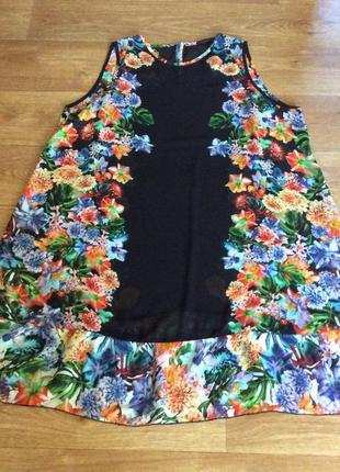Яркое и красивое платье-туника