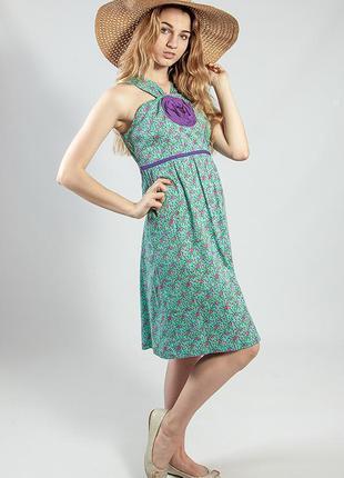 Платье женское летнее с розой markshara