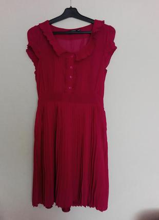 Шикарное бордовое платье atmosphere