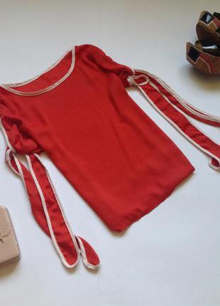 Шифоновая блуза с прорезями на рукавах. смотрите мои объявления!