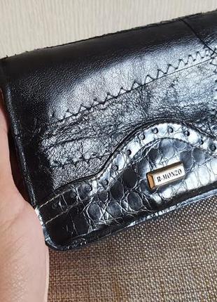 Кожаный кошелек r-monzo испания