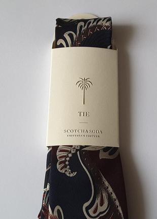 Эксклюзивный галстук scotch&soda, нидерланды