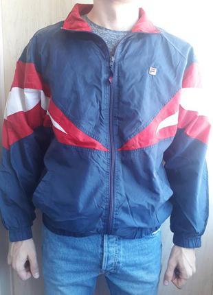 Куртка ветровка олимпийка fila
