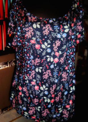 Легкая блузочка летняя расцветка