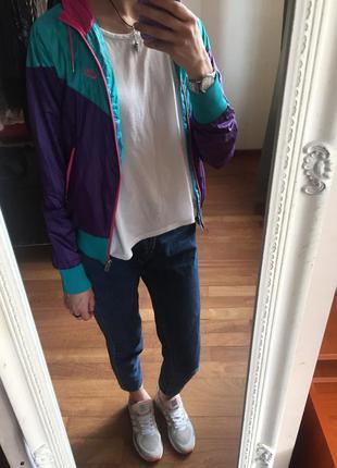Ветровка nike (оригинал) спортивная курточка олдскул
