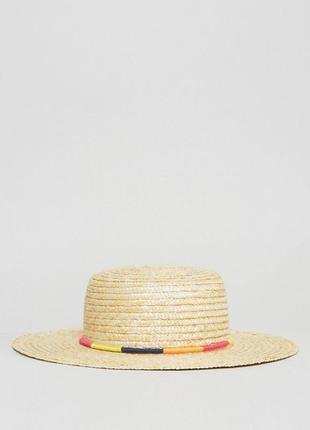 Крутая натуральная шляпа с-м