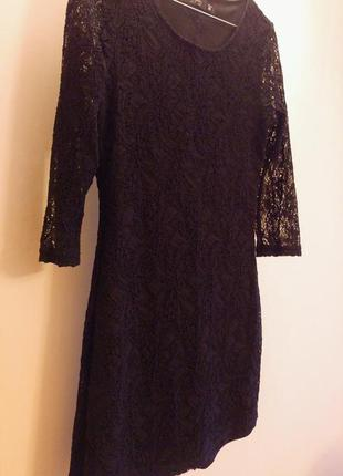 Коротке чорне плаття reserved