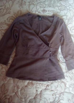 Брендовая блуза h&m