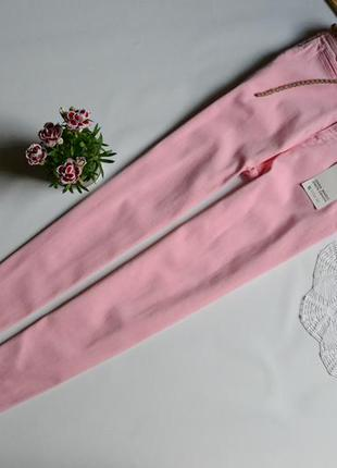 Zara штани рожеві під класичні