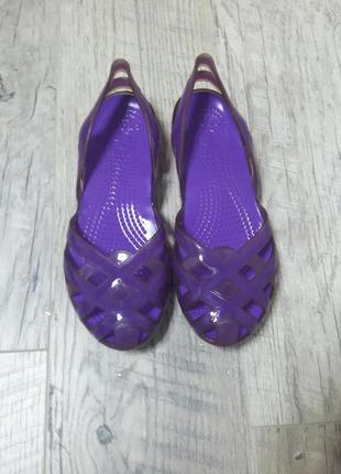 Кроксы crocs сандалии j4 длина стопы 23 22,5 см
