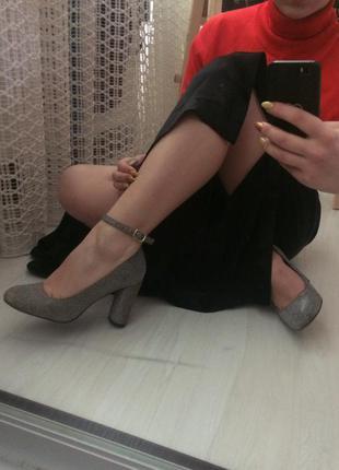 Туфли на устойчивом каблуке new look