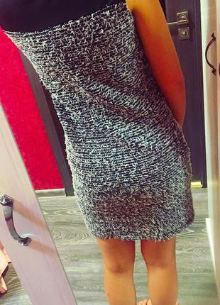 Платье с травкой с коротким рукавом top secret