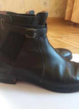 Ботинки из кожи attizzare