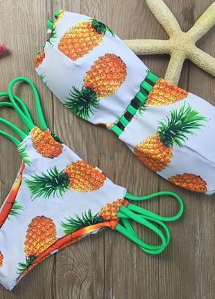 Купальник с ананасами