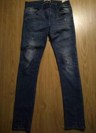 Мужские зауженные джинсы zara