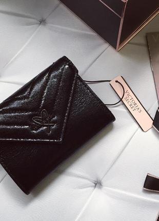 Кошелёк victoria's secret, чёрный кошелёк сиктория сикрет оригинал
