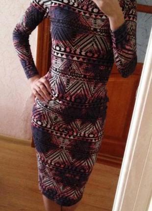 Платье миди от new look