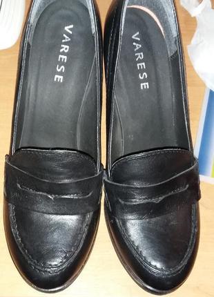 Стильные туфли-лоферы varese
