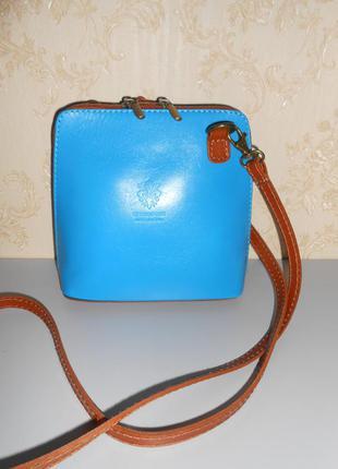 Сумка кожаная кросс боди genuine leather