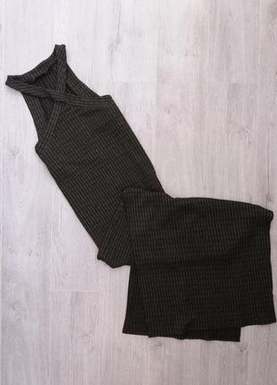 Шикарное платье в пол большого размера xl, xxl