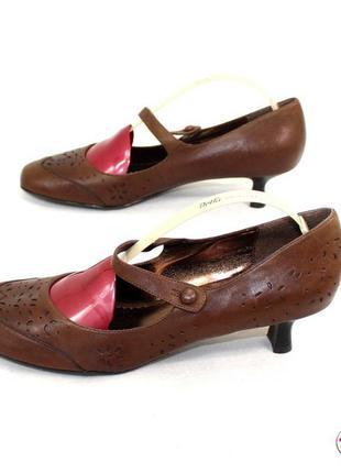 Туфли 42 р janet d германия натуральная кожа оригинал