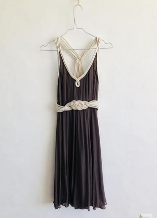 Шелковое платье вечернее / выпускное