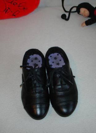 Туфли оксфорды кожаные бренд clarks