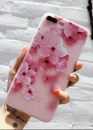 Силиконовый  чехол на айфон iphone  7  8