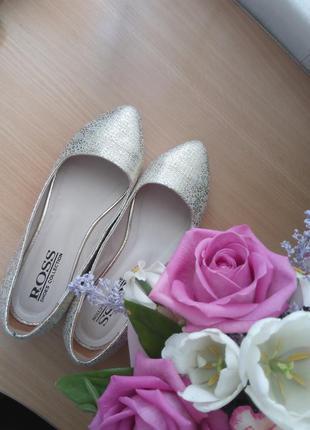 Балетки туфли кожа р.37