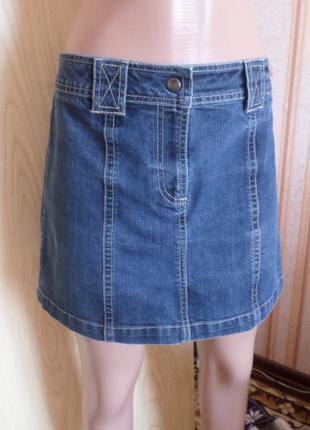 Мини юбка джинсовая dorothy perkins