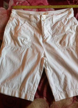Крутые белые шорты-трансформеры с карманами