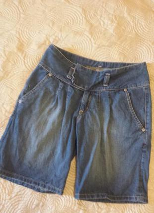 Джинсовые шорты от miss selfridge