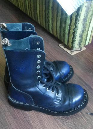 Ботинки стилы steel