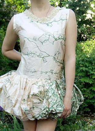 Вечернее платье баллон выпускное
